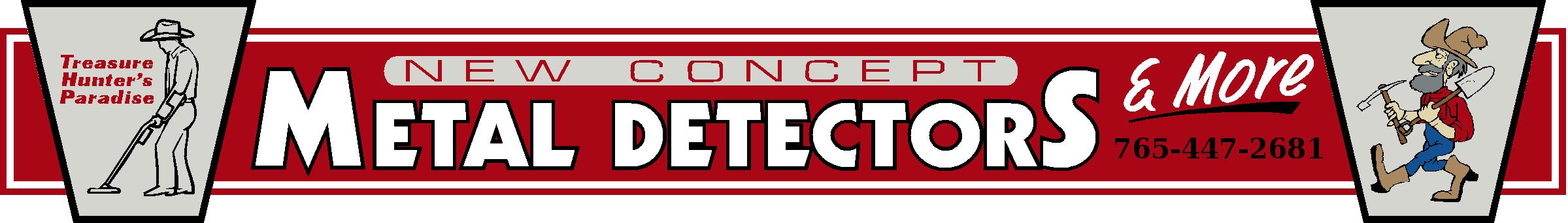 New Concept Metal Detectors Logo